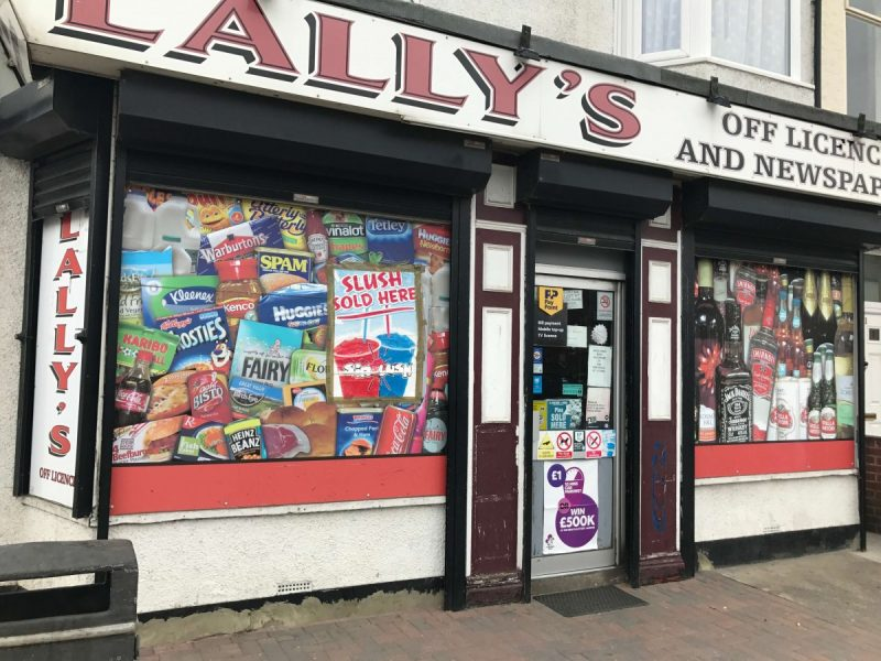 Convenience Store & Off Licence with 2 Bedroom Flat