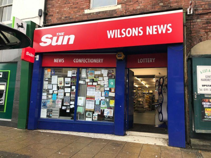 CLOSED High Street Newsagent & Card Shop