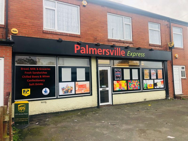 Convenience Off Licence on main road in Palmersville