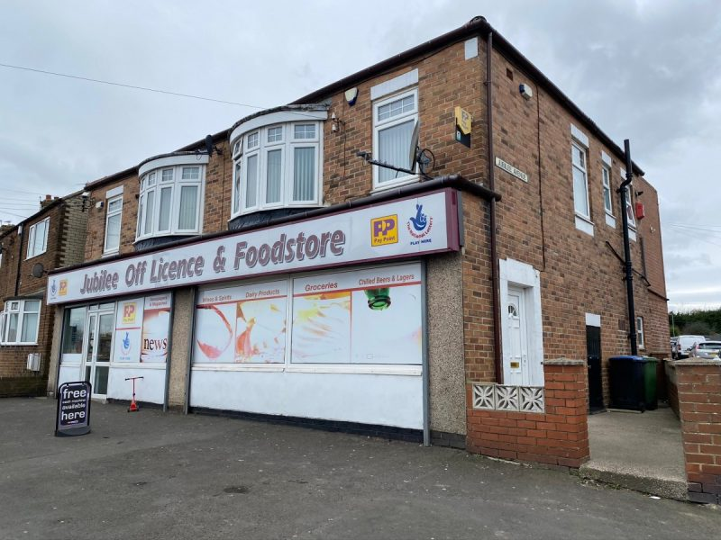 FREEHOLD Convenience Store with 4 Bedroom Property