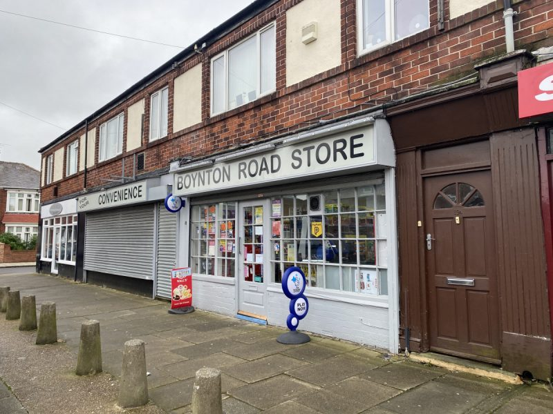 Convenience Store & Closed Newsagent Unit